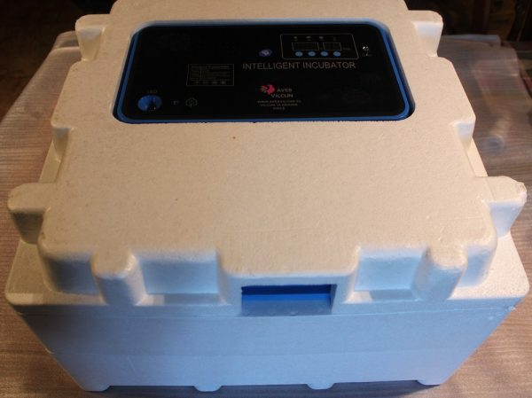 Incubadora Automática 72 Huevos con Doble Pared Difusora